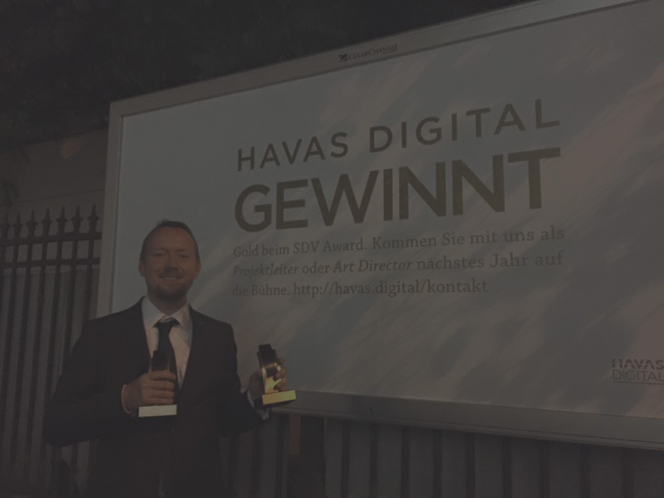 Double Gold Award at SDV Award Switzerland 2015